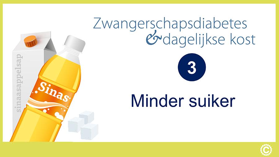 Zwangerschapsdiabetes en dagelijkse kost_Videostartpagina_03_Minder suiker